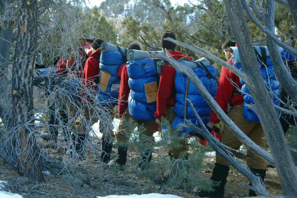 Troubled teens wilderness camp alaska
